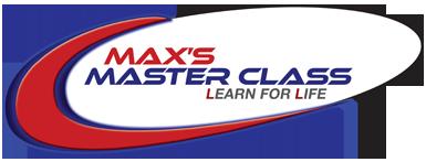 Max's Master Class Logo